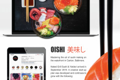 Naked Grill Sushi - Client Study